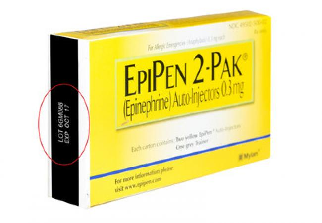 FDA Alerts Consumers of Nationwide Voluntary Recall of EpiPen and EpiPen Jr.